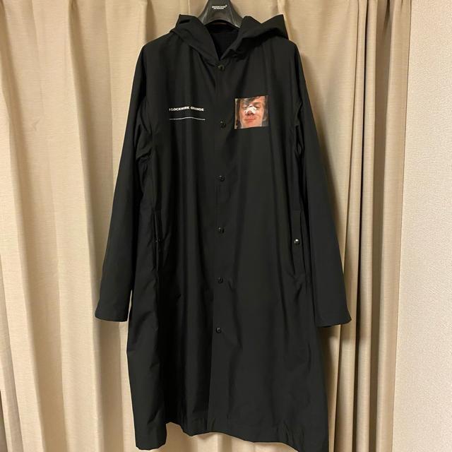 UNDERCOVER(アンダーカバー)のUNDER COVER フードコーチJKT 時計仕掛けのオレンジ メンズのジャケット/アウター(その他)の商品写真