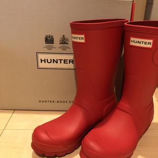 ハンター(HUNTER)のハンター レインブーツ赤(レインブーツ/長靴)