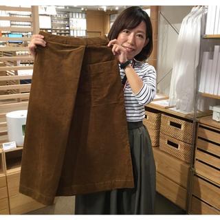 ムジルシリョウヒン(MUJI (無印良品))の無印良品 コーデュロイ スカート(ロングスカート)