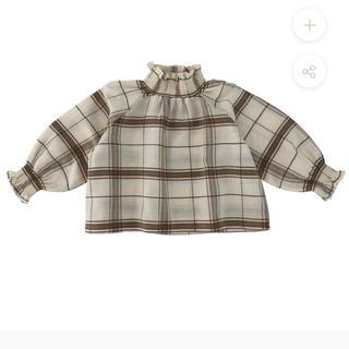 Caramel baby&child  - liilu smocked blouse 2y 2020aw