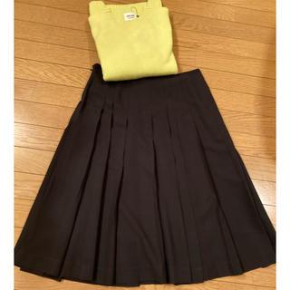 TOMORROWLAND - TOMORROWLAND GALERIE VIEウールプリーツスカート