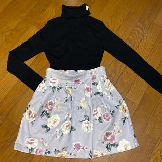 ダズリン(dazzlin)のdazzlin 花柄 スカート(ミニスカート)