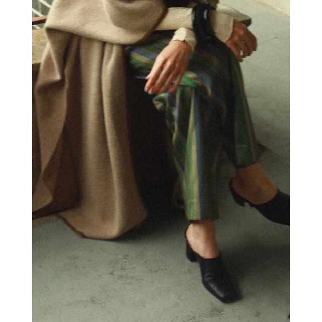 TODAYFUL(トゥデイフル)のTODAYFUL スクエアギャザーシューズ レディースの靴/シューズ(ローファー/革靴)の商品写真