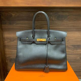 Hermes - 美品¥160万品 エルメス バーキン35 アルデンヌ GLD金具 ブラック