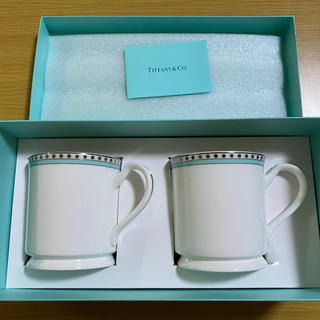 Tiffany & Co. - 新品未使用 ティファニー ペアマグカップ
