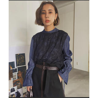 Ameri VINTAGE - アメリヴィンテージ  BIB LACE LAYERED BLOUSE