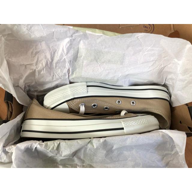 CONVERSE(コンバース)のコンバース オールスター ベージュ 23.5cm レディースの靴/シューズ(スニーカー)の商品写真