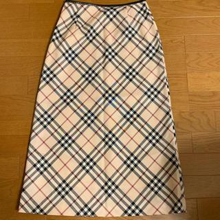 BURBERRY - ★バーバリー 台形スカート 定番チェック 美品