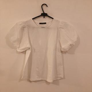 ダブルクローゼット(w closet)のwclosetのパフスリーブTシャツ(Tシャツ(半袖/袖なし))