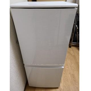 SHARP - SHARP 2ドア冷蔵庫 137L  2013年製 ホワイト