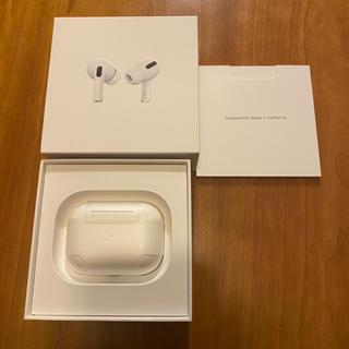 アップル(Apple)のAirPods Pro 新品未使用 国内正規品 Apple(ヘッドフォン/イヤフォン)