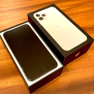 Apple - 【iPhone11pro】256GB/SIMフリー版/シルバー