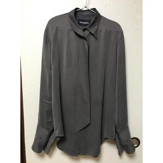 ジョンローレンスサリバン(JOHN LAWRENCE SULLIVAN)のyukihashimoto 19aw エクステンドカラーシャツ 46(シャツ)