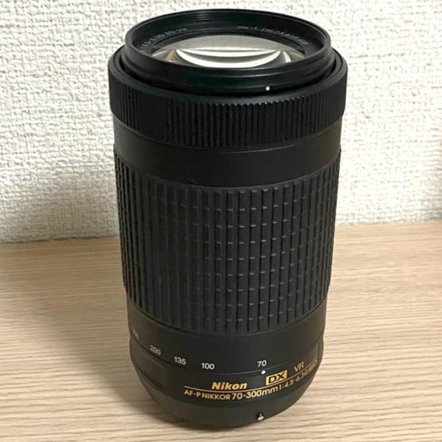Nikon(ニコン)のNikon DX VR 70-300 f4.5-6.3 AF-P 望遠レンズ  スマホ/家電/カメラのカメラ(レンズ(ズーム))の商品写真