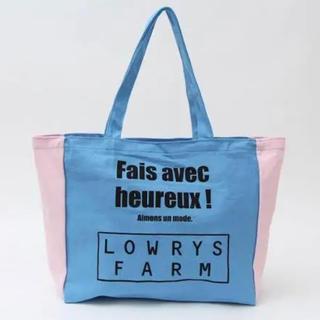 ローリーズファーム(LOWRYS FARM)の【新品未使用】LOWRYSFARM トートバッグ(トートバッグ)