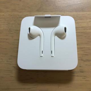 アイフォーン(iPhone)のイヤホン   iPhone 純正(ヘッドフォン/イヤフォン)