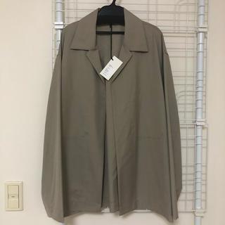 コモリ(COMOLI)のAuralee シャツジャケット サイズ4(テーラードジャケット)