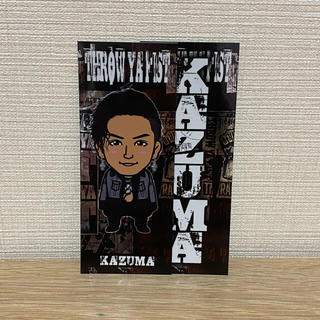 THE RAMPAGE - 川村壱馬 千社札 tyf THROW YAFIST