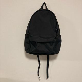 MUJI (無印良品) - 無印良品 リュック バックパック ブラック