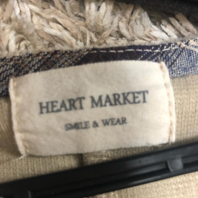 Heart Market(ハートマーケット)のHEART MARKET ワンピース ベージュ   レディースのワンピース(ひざ丈ワンピース)の商品写真