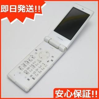SHARP - 良品中古 SH-03E ホワイト 白ロム