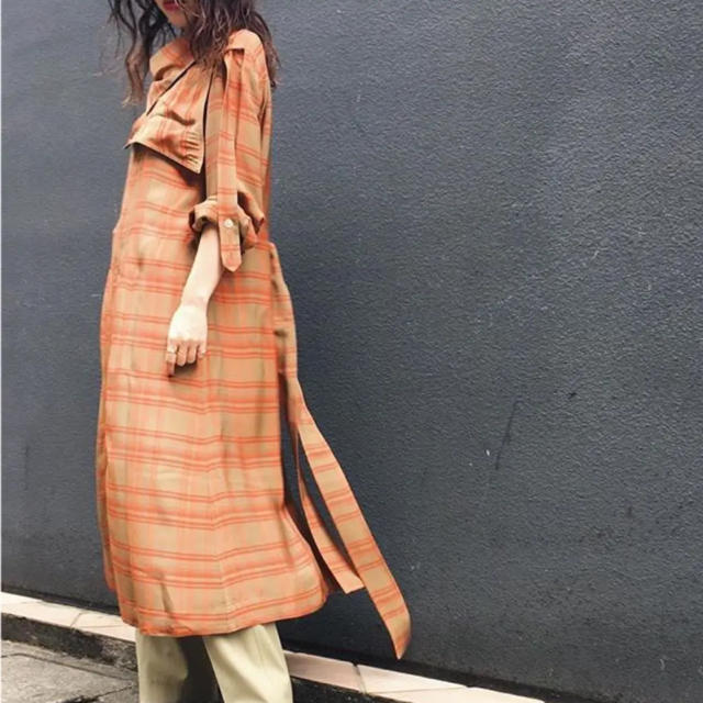 Ron Herman(ロンハーマン)の美品!フミカウチダ fumika ucida ドレス ワンピース コート レディースのワンピース(ロングワンピース/マキシワンピース)の商品写真