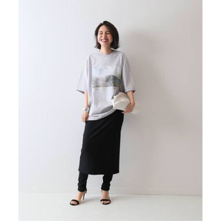 FRAMeWORK - FRAMeWORK *リブレギンス付きスカート* 日本製 美品❣️