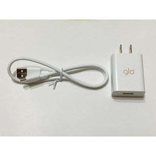 glo - USB充電器+USBケーブルtypeC セット