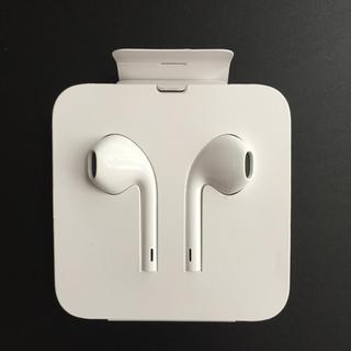 アップル(Apple)の【純正品・未使用】iPhone イヤフォン(ヘッドフォン/イヤフォン)