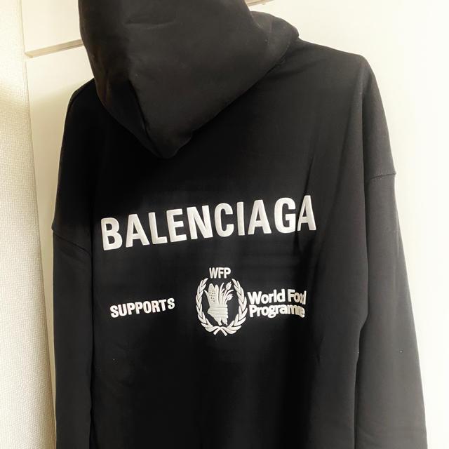 Balenciaga(バレンシアガ)のバレンシアガ パーカー メンズ 美品 早い者勝ち メンズのトップス(パーカー)の商品写真
