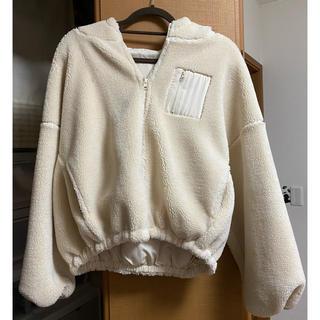 ウィゴー(WEGO)のボアジャケットコート(テーラードジャケット)