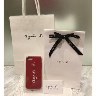アニエスベー(agnes b.)の【新品未使用】agnes.b アニエス・ベー  iPhone 7・8 用ケース (iPhoneケース)
