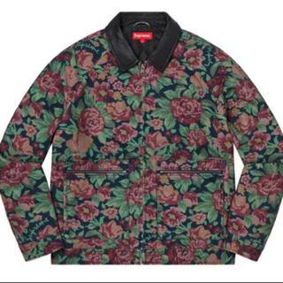 Supreme - Supreme Leather Collar Work Jacket