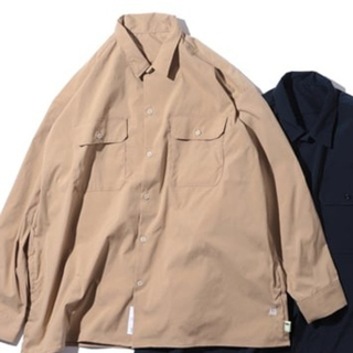 BEAMS - 新品 SSZ AH.H コラボ ワークシャツ WORK SHIRT BEAMS