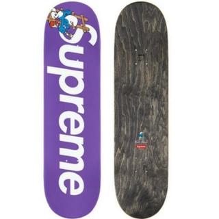 シュプリーム(Supreme)のSupreme®/Smurfs™ SkateboardPurple(スケートボード)