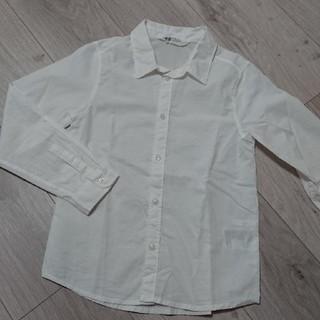 エイチアンドエム(H&M)のH&M  コットンシャツ  130サイズ(ブラウス)