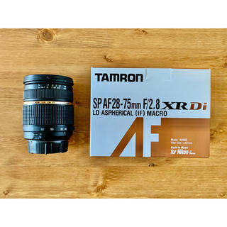 TAMRON - タムロン SP AF 28-75mm F2.8 ニコンFマウント用 A09NⅡ