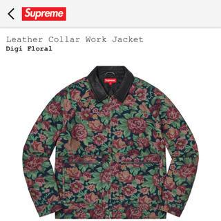 即発送 S supreme Work Jacket Digi Floral