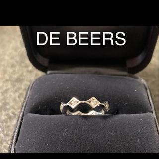 デビアス(DE BEERS)のデビアスのエタニティリング(リング(指輪))