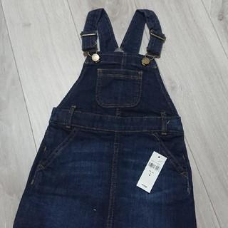 ベビーギャップ(babyGAP)のbabyGAP  デニムジャンパースカート   新品(スカート)