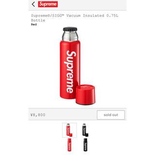 シュプリーム(Supreme)のsupreme  Vacuum Insulated 0.75L  水筒 赤(タンブラー)