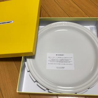 ルクルーゼ(LE CREUSET)のルクルーゼ ラウンドプレート 27cm(食器)