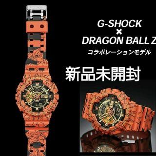 ジーショック(G-SHOCK)の新品未使用 CASIO G-SHOCK ドラゴンボールZコラボ(腕時計(デジタル))