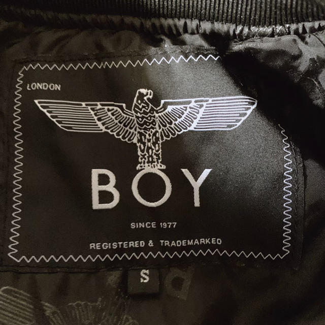 Boy London(ボーイロンドン)の美品 BOY LONDON MA-1 ブルゾン メンズのジャケット/アウター(ブルゾン)の商品写真