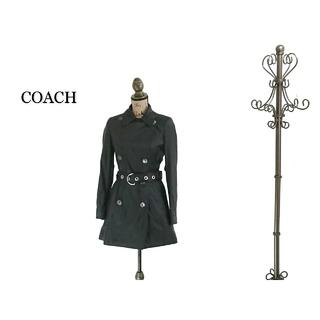 コーチ(COACH)のCOACH コーチ トレンチコート ロングコート レディース(トレンチコート)