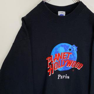 プラネットハリウッド PLANET HOLLYWOOD スウェット トレーナー