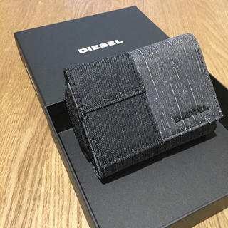 DIESEL - 【新品】DIESEL ディーゼル メンズ レディース 折り財布 革財布 箱付き