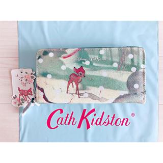Cath Kidston - 【新品未使用】キャスキッドソン ディズニー コンチネンタル バンビシーン
