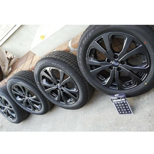 スバル(スバル)のスバル フォレスター 純正ホイール18インチ 自動車/バイクの自動車(タイヤ・ホイールセット)の商品写真