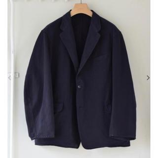 コモリ(COMOLI)のCOMOLI 20aw 製品染ジャケット size2 NAVY  新品未使用(ナイロンジャケット)